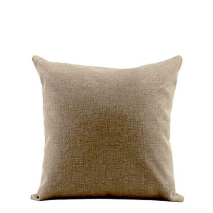 Picture of PILLOW - COVER (LINEN brown light) 40x40cm