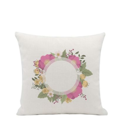 Picture of PILLOW - COVER (LINEN white) 40x40cm