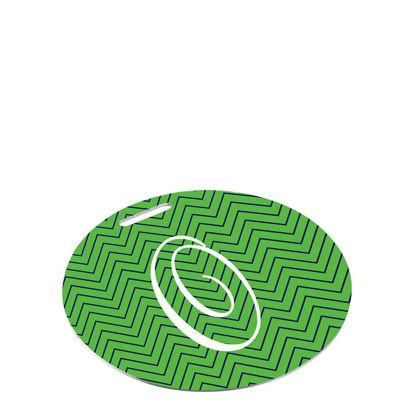 Εικόνα της BAG TAG (Alum.2s) WH.SEMI-GLOSS (ROUND)