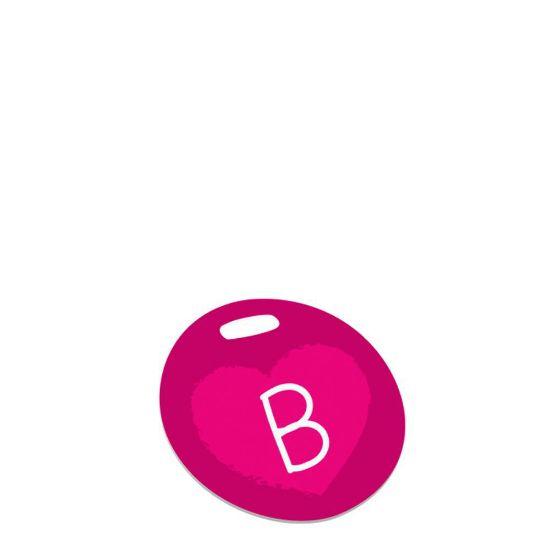 Εικόνα της BAG TAG (Plast.2s) WHITE GLOSS- Diam.10.16