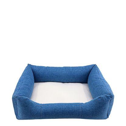 Εικόνα της Bumper Pet Bed (LINEN blue) Large