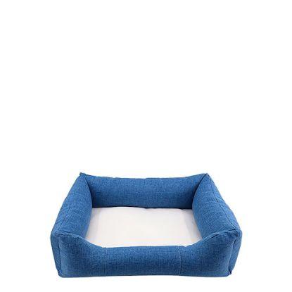 Εικόνα της Bumper Pet Bed (LINEN blue) Medium