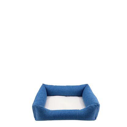Εικόνα της Bumper Pet Bed (LINEN blue) Small