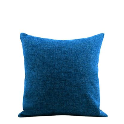 Picture of PILLOW - COVER (LINEN blue dark) 40x40cm