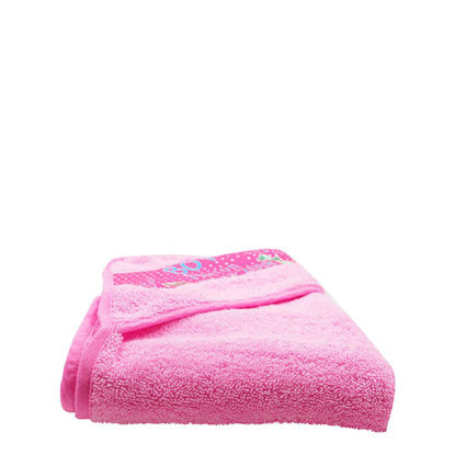 Picture of TOWEL - BABY (HOODED) 75x75cm - PINK