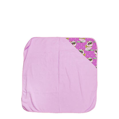 Picture of TOWEL - BABY (HOODED) 80x80cm - PINK