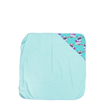 Picture of TOWEL - BABY (HOODED) 80x80cm - GREEN Light
