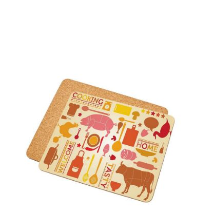 Picture of PLACEMAT (HB) 3.18mm 19,48x23,50 with CORK