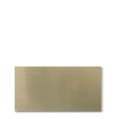 Εικόνα της ALUMINUM SUBLI (0.45mm) 30x60cm GOLD brush