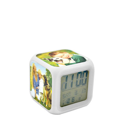 Picture of CLOCK desktop (PLASTIC) alarm clock