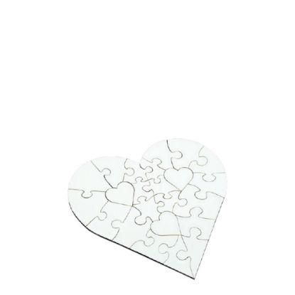 Picture of PUZZLE FELT - HEART (19.1x19.1) 75pcs