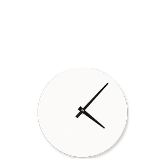Εικόνα της WALL CLOCK (Aluminum  KIT) WHITE diam.20.64