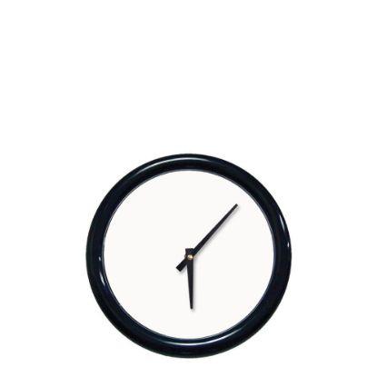 Εικόνα της WALL CLOCK (BL.Frame+Lense) WH.ALU.diam.20.64