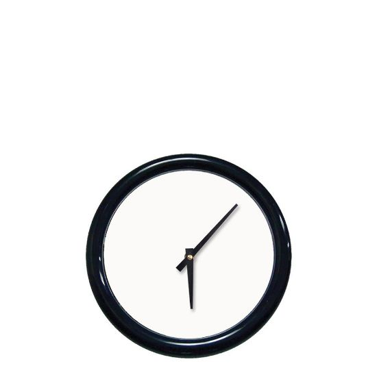 Picture of WALL CLOCK (BL.Frame+Lense) WH.ALU.diam.20.64