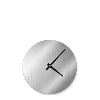 Picture of WALL CLOCK (Aluminum  KIT) SILVER diam.20.64