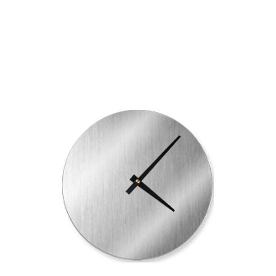 Εικόνα της WALL CLOCK (Aluminum  KIT) SILVER diam.20.64