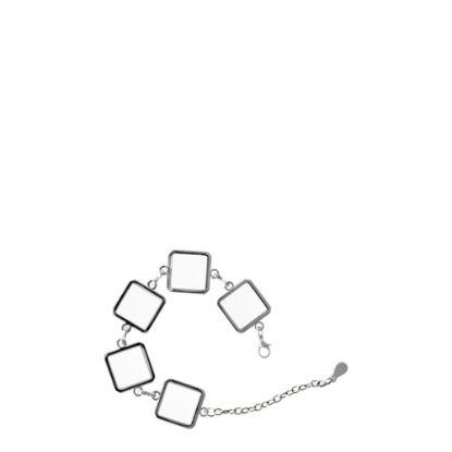Εικόνα της BRACELET Chained with 5 Diamonds