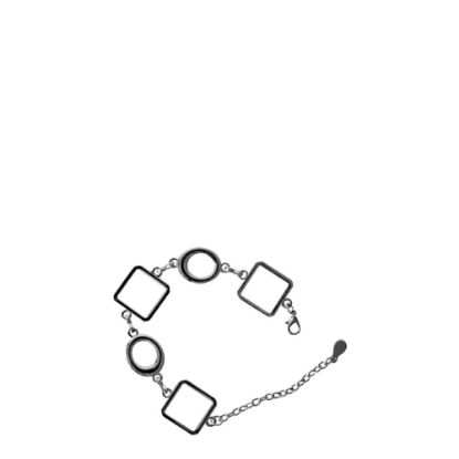 Εικόνα της BRACELET Chained with 3 Diamonds