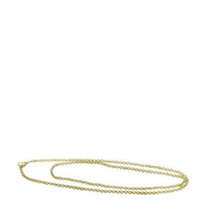 Εικόνα της TAG CHAIN metal 70cm GOLD