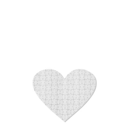 Picture of PUZZLE FABRIC - HEART (17.5x19.9) 75pcs