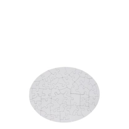Picture of PUZZLE (PAPER gloss) OVAL 19x24 - 51pcs