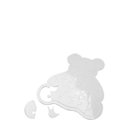 Picture of PUZZLE (PAPER sparkle) BEAR 20x21.7cm -28pcs