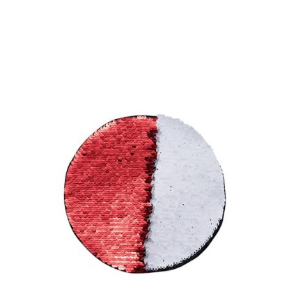 Picture of ROUND ADHESIVE sequin (RED) D.19cm