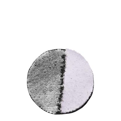 Picture of ROUND ADHESIVE sequin (SILVER) D.19cm