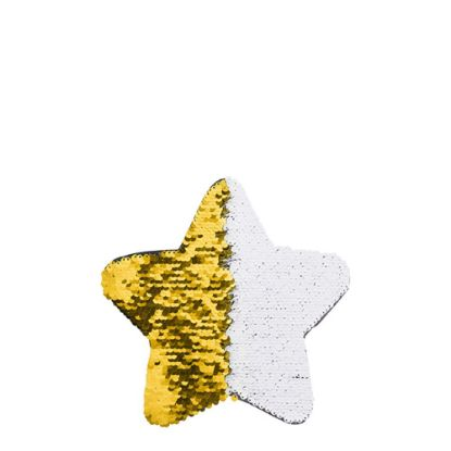 Picture of STAR ADHESIVE sequin (GOLD) 18x18cm