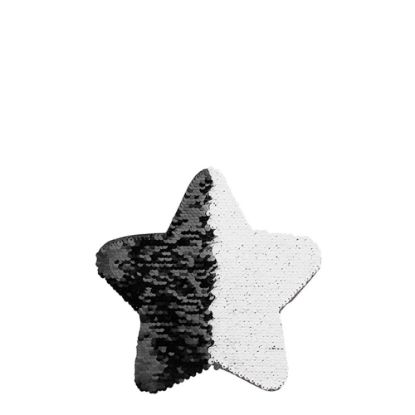 Picture of STAR ADHESIVE sequin (BLACK) 18x18cm