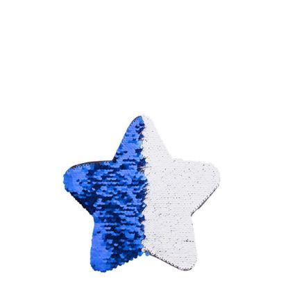 Picture of STAR ADHESIVE sequin (BLUE DARK) 18x18cm
