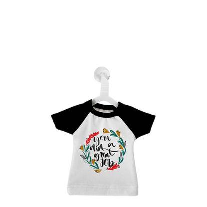 Εικόνα της MINI T-SHIRT with Hanger - BLACK
