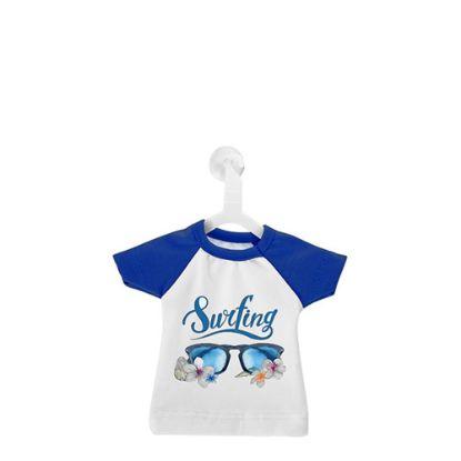 Εικόνα της MINI T-SHIRT with Hanger - BLUE