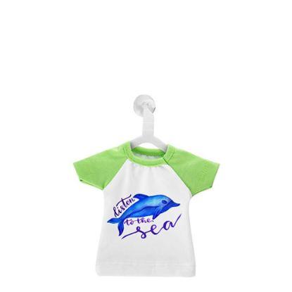 Εικόνα της MINI T-SHIRT with Hanger - GREEN