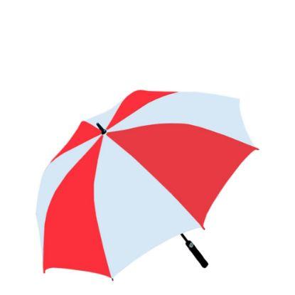 """Εικόνα της UMBRELLA - WHITE/RED (100% Polyester) 30"""""""