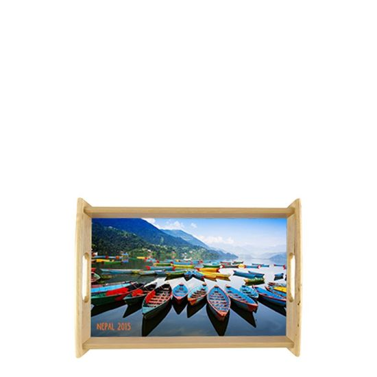 Picture of Service Tray (Natural) 22.54x32.54cm