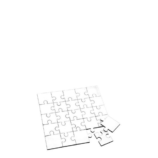 Picture of PUZZLE HB (UNISUB)-SQUARE(25pcs) WH.GLOSS-17x17