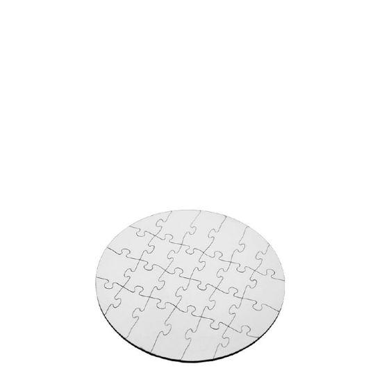Εικόνα της PUZZLE HB (UNISUB)-CIRCLE(24pcs) WH.GLOSS-Diam.17