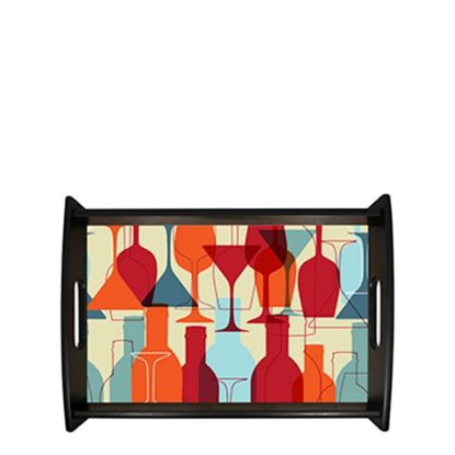 Picture of Service Tray (Black) 35.24x45.4cm