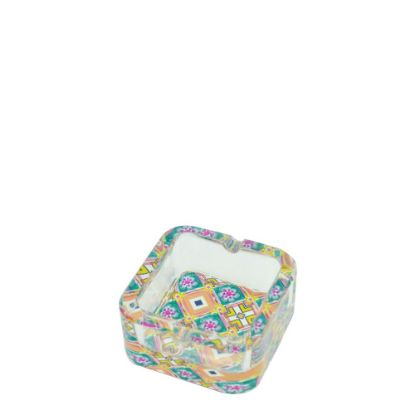 Picture of ASHTRAY crystal 7.5x7.5x3.5cm SQUARE