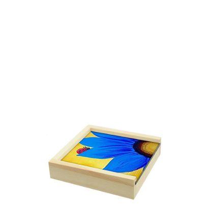 Εικόνα της WOODEN BOX - 11x11x3.5cm