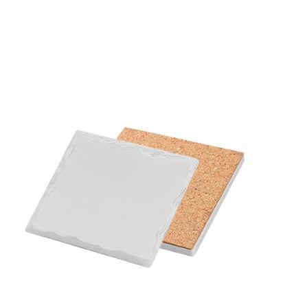 Εικόνα της COASTER (SANDSTONE+cork) SQ. WILD 10.8 gloss