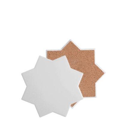 Εικόνα της COASTER (SANDSTONE+cork) OCTAGON 10.8 gloss