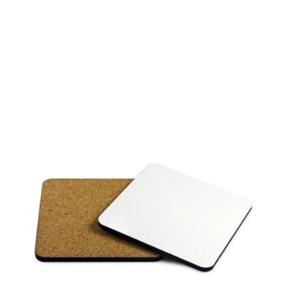 Picture of COASTER (HB) SQUARE 10x10cm - with CORK