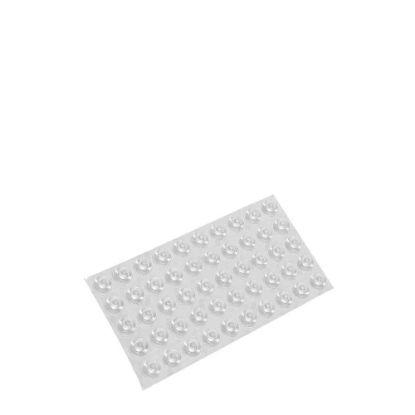 Εικόνα της TRANSPARENT RUBBER BUMPER adhesive (50pcs)