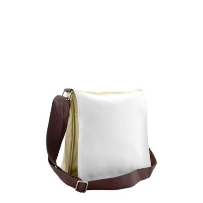 Εικόνα της SHOULDER BAG SMALL- BEIGE