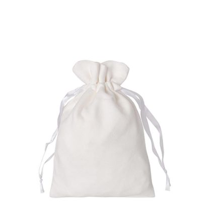 Picture of DRAWSTRING BAG double-sided plush 35x38cm