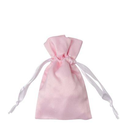 Picture of DRAWSTRING BAG satin pink 35x38cm