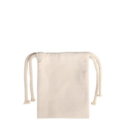 Picture of DRAWSTRING BAG - 20x17cm (CANVAS)
