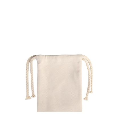 Picture of DRAWSTRING BAG - 15.5x12cm (CANVAS)